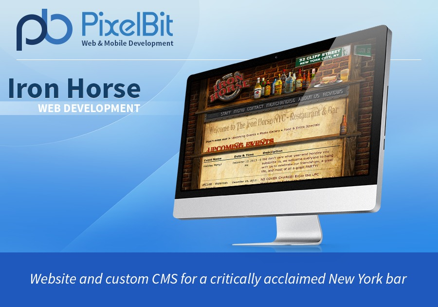 A great web design by PixelBit, Boston, MA: Website, Marketing Website , Food & Beverage , PHP