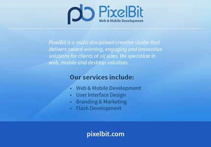 A great web design by PixelBit, Boston, MA: Responsive Website, Portfolio , Software , Other