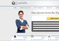 A great web design by qqbenefits, Indianpolis, IN: