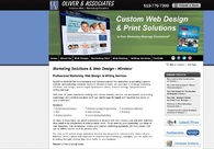 A great web design by Oliver & Associates, Windsor, Canada: