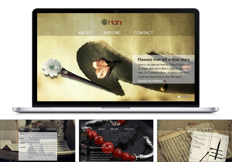 A great web design by Xiao's Design, New York, NY: Website, Marketing Website , Fashion , Design Only