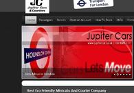 A great web design by jupitercarsandcouriers, London, United Kingdom: