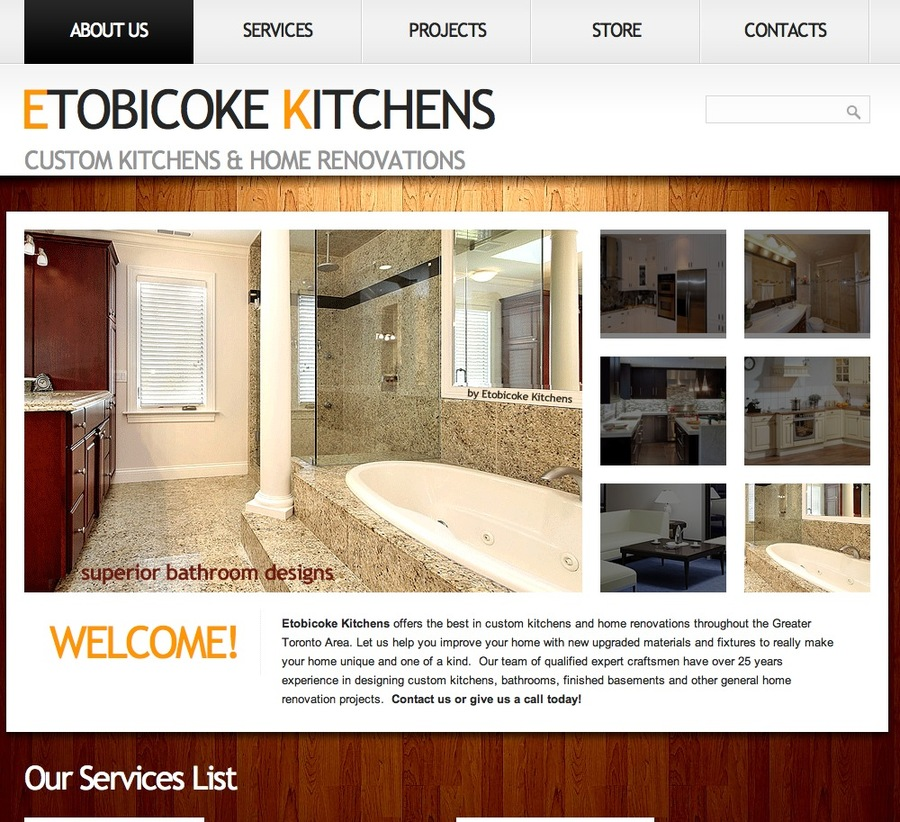 A great web design by WebSoftwarePlus.com, Toronto, Canada: Responsive Website, Marketing Website , Construction , ASP.NET