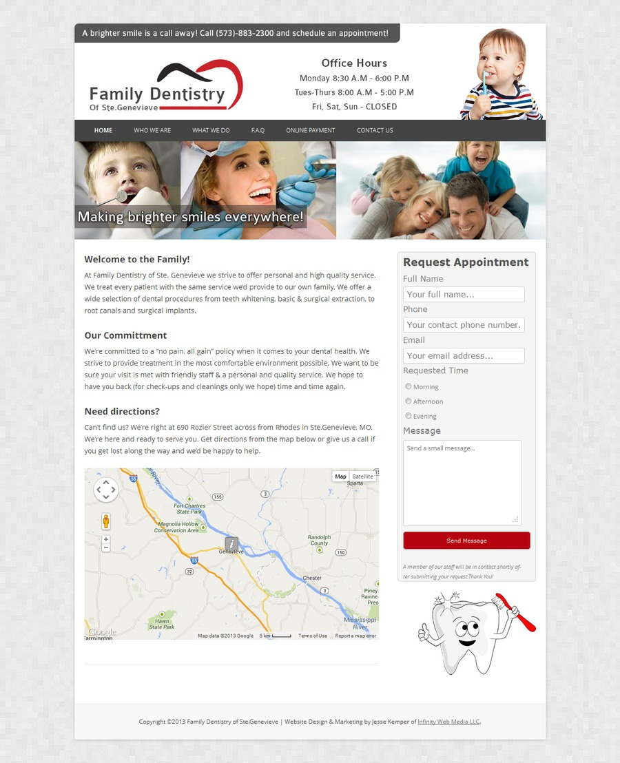 A great web design by Boosted Online - Saint Louis Web Design, St Louis, MO: