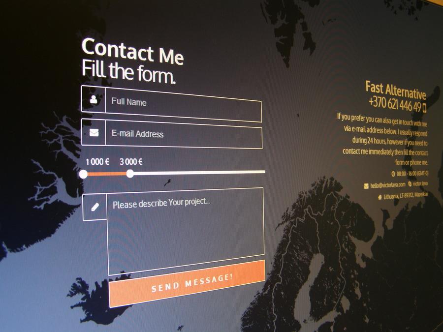 A great web design by Freelance Web Developer, Vilnius, United Kingdom: