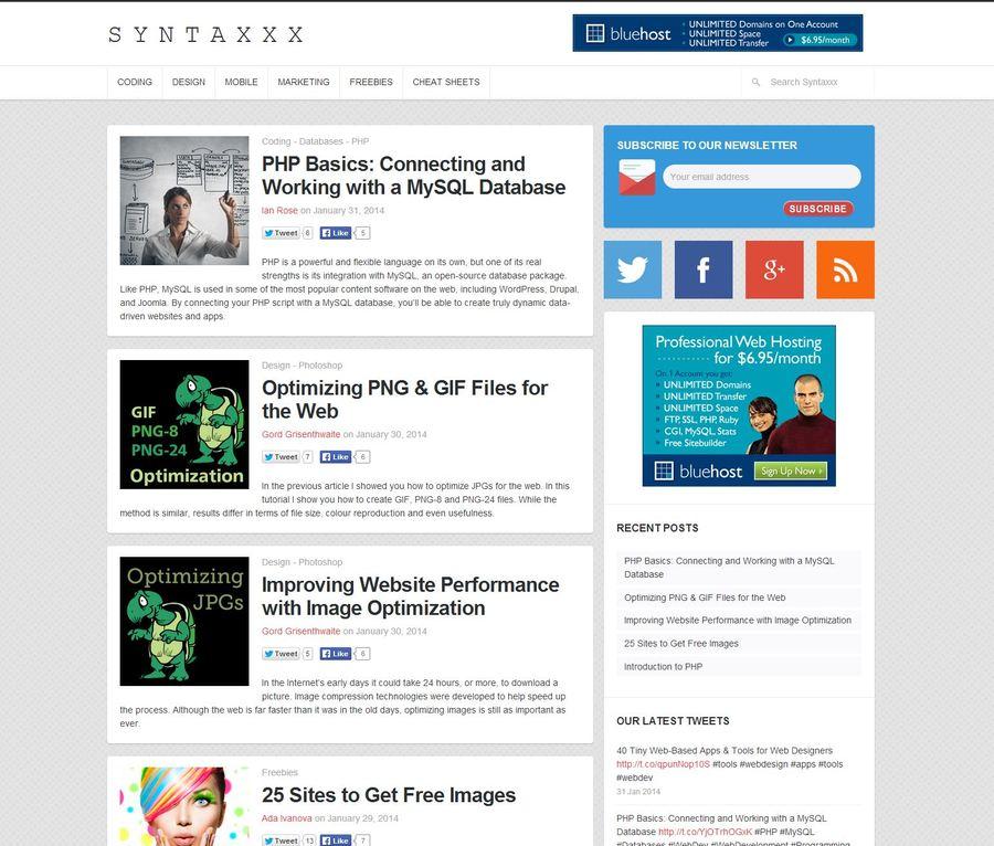 A great web design by Syntaxxx.com, Atlanta, GA: