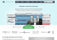 A great web design by AXZM , Dallas, TX: Website, Portfolio , Marketing , Wordpress