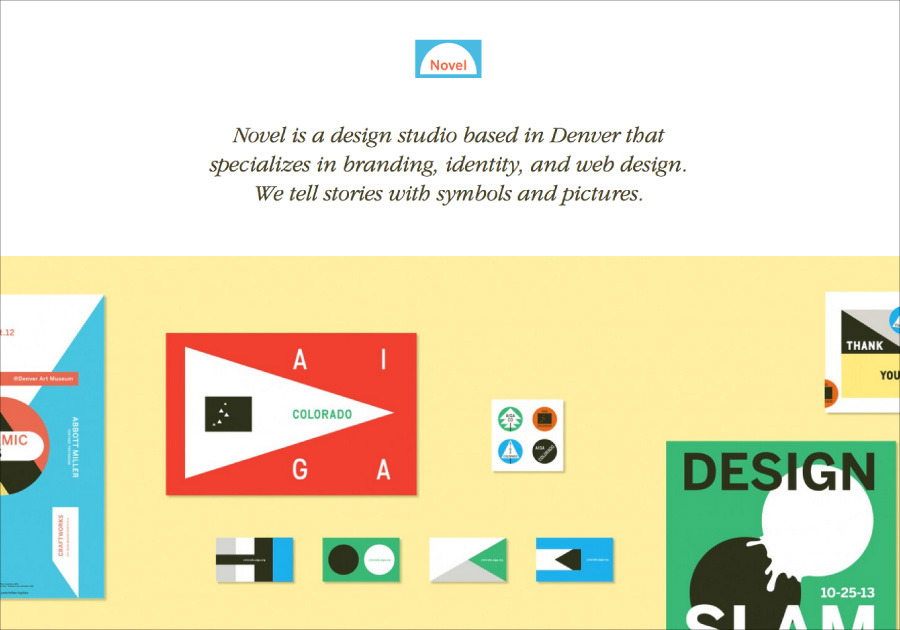 A great web design by Novel, Denver, CO:
