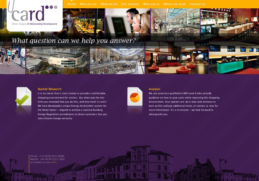 A great web design by CreativeTags, Belfast, United Kingdom: