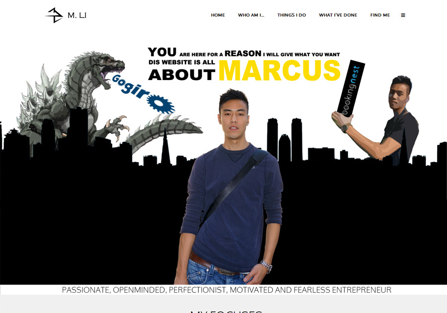 A great web design by marcusli.ca, Vancouver, Canada: Responsive Website, Other, Internet , Wordpress