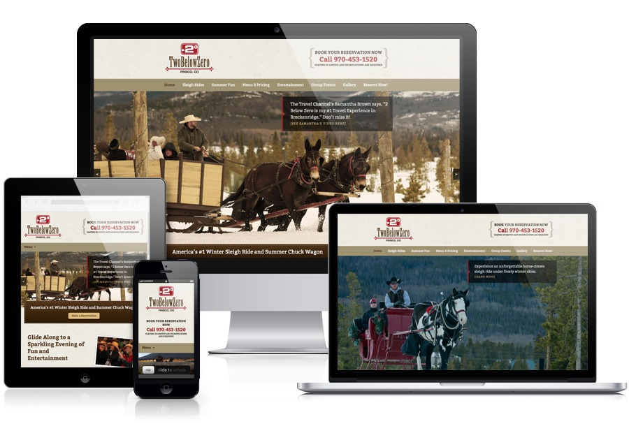 A great web design by Armgardt Design, Denver, CO: Responsive Website, Marketing Website , Entertainment , Wordpress