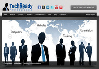 A great web design by TechReady Professionals, Clarion, PA: Website, Portfolio , Service , Wordpress