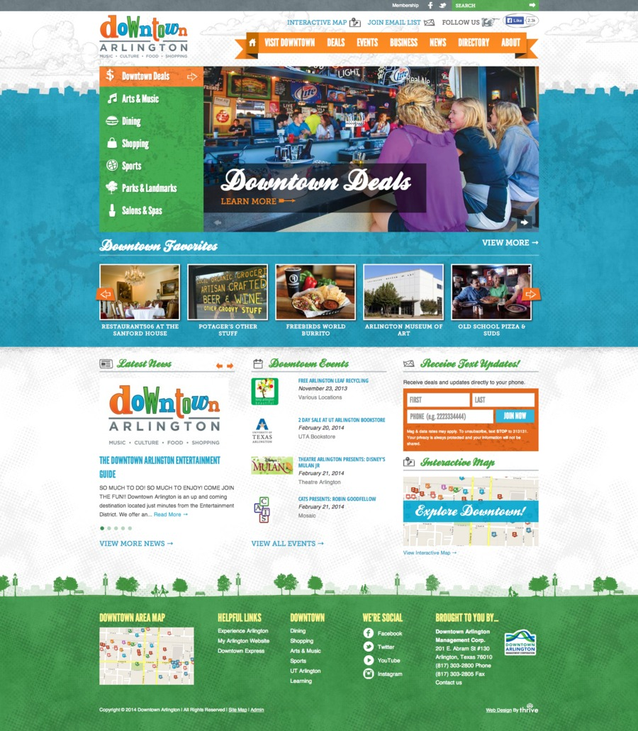 A great web design by Thrive Internet Marketing, Dallas, TX: Responsive Website, Marketing Website , Other, Wordpress