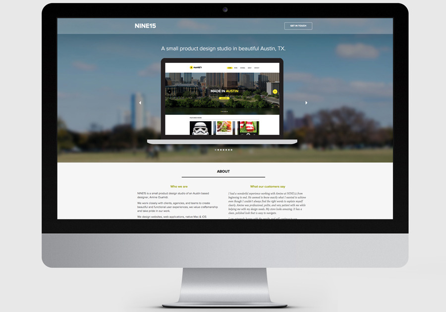 A great web design by NINE15, Austin, TX: Responsive Website, Portfolio , Technology , Wordpress