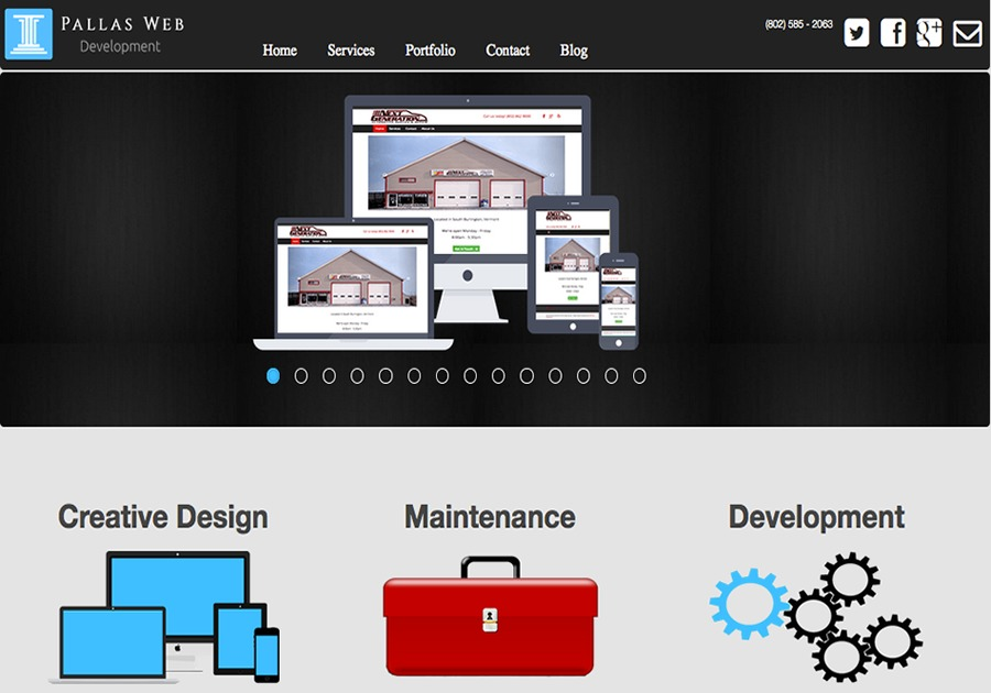A great web design by Pallas Web Development, Burlington, VT: Responsive Website, Marketing Website , Marketing , Wordpress