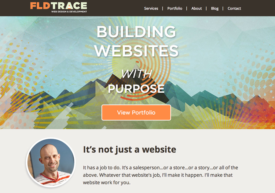 A great web design by FLDTRACE, Charlotte, NC: Responsive Website, Portfolio , Technology , Wordpress