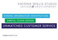 A great web design by Katrina Willis Studio, Chicago, IL: