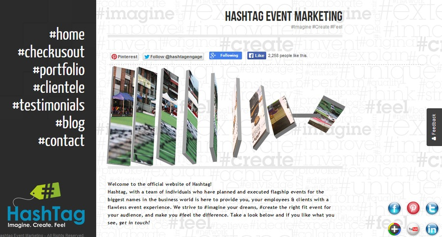 A great web design by HashTag Technologies, Bangalore, India: Website, Marketing Website , Service , Wordpress