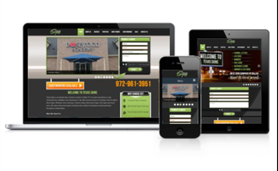 A great web design by eWebGurus, Dallas, TX: