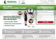 A great web design by PersonalLoanOffers, South Miami, FL: Website, Other, Financial Services , Design Only