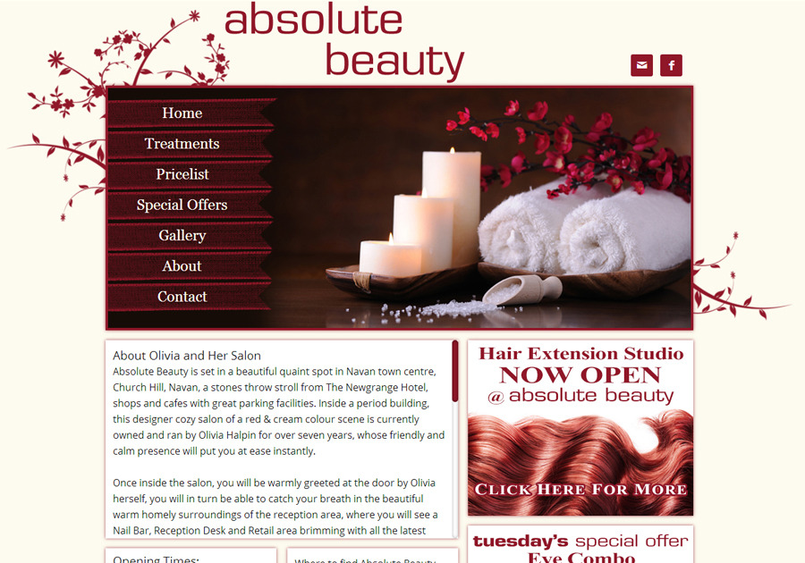 A great web design by Sealion Web Design, Dublin  Ireland, Ireland: