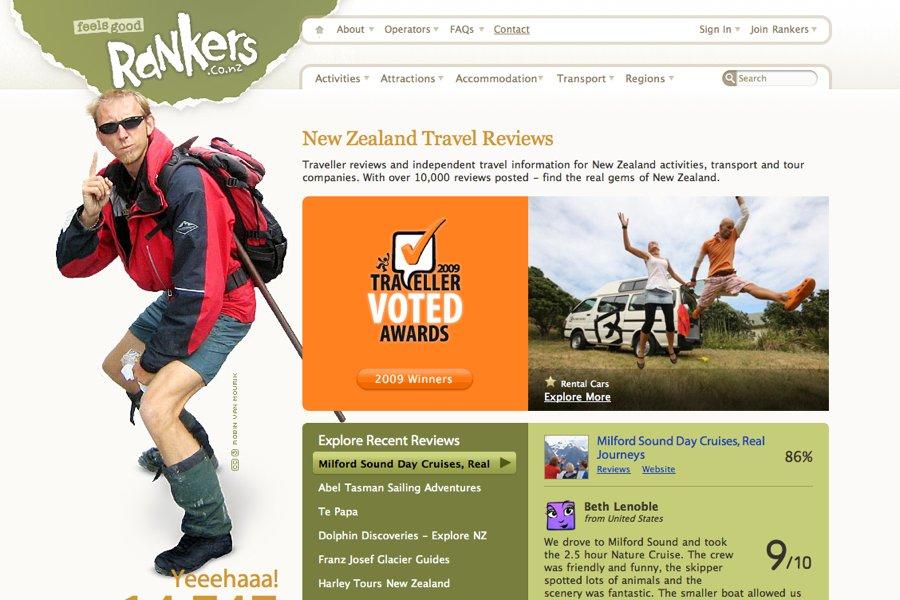 A great web design by Nutcracker Design, Golden Bay, New Zealand: