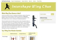 A great web design by IntershapeWingChun.com, New York, NY: