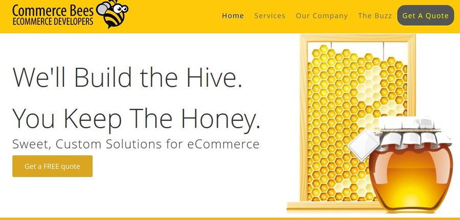 A great web design by CommerceBees, Chicago, IL: Website, E-Commerce , Technology , Magento