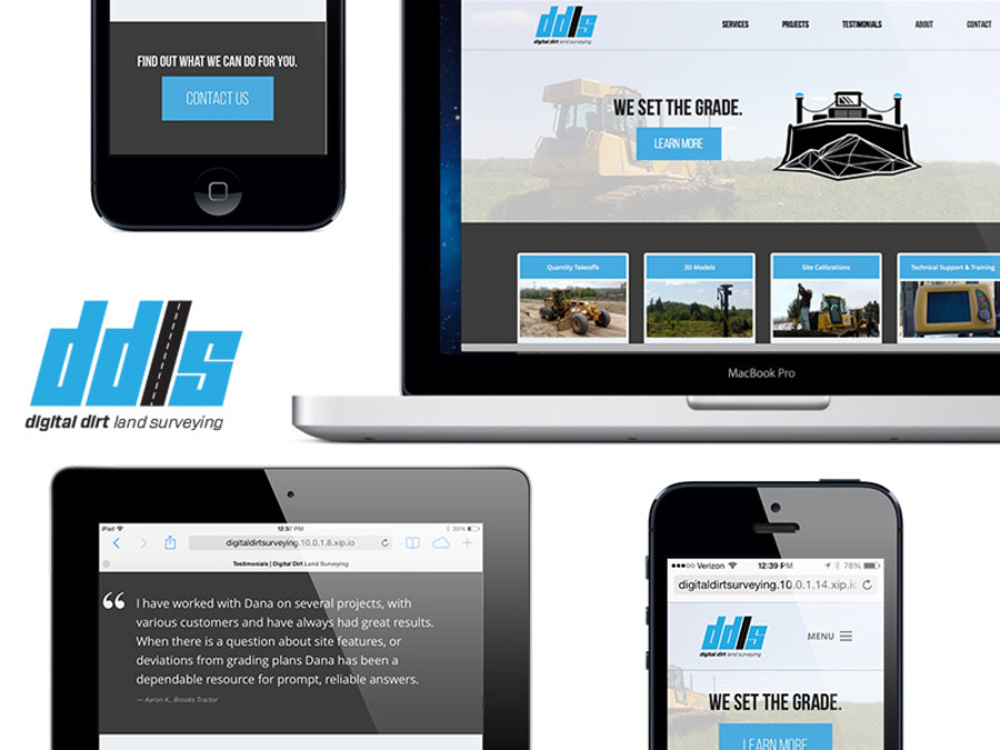 A great web design by Elbongurk, Appleton, WI: Responsive Website, Marketing Website , Construction , Wordpress