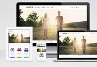 A great web design by ROSTRATA WebNinja from Japan, Vancouver, Canada: Responsive Website, E-Commerce , Consumer Products , Wordpress