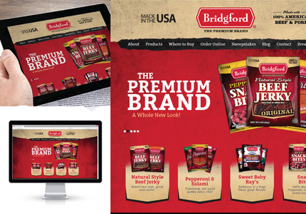 A great web design by Idea Marketing Group: Website, E-Commerce , Food & Beverage , Wordpress
