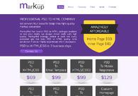 A great web design by http://markuppsd.com/, Rajkot, India: Website, Publishing , Service , Design Only