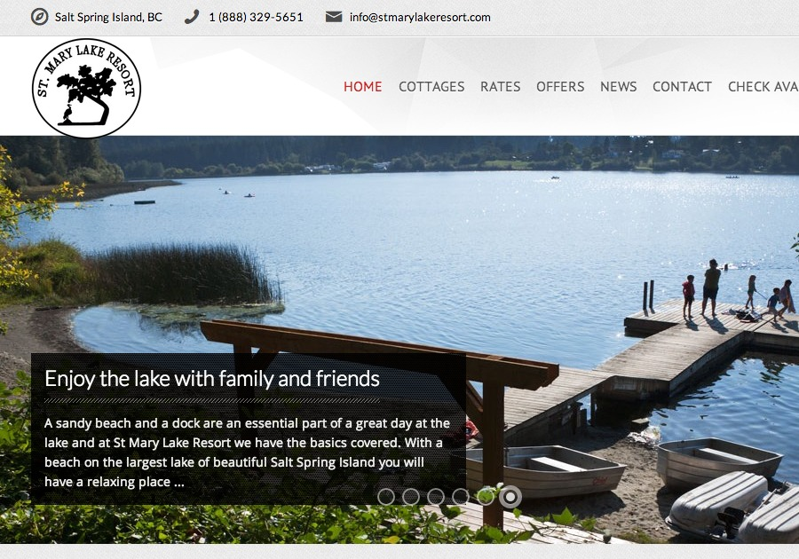 A great web design by Web Design & Development, Vancouver, Canada: