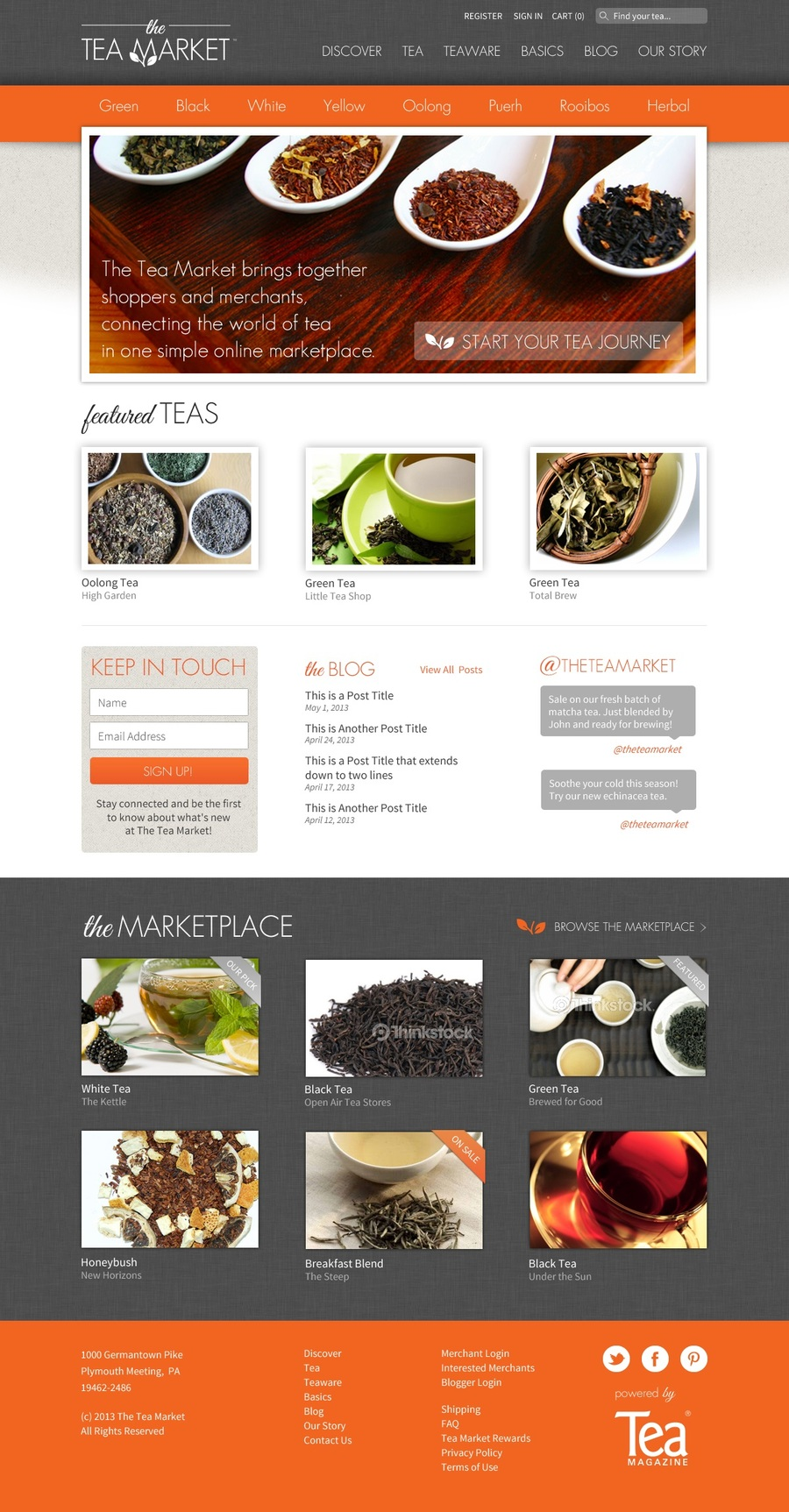 A great web design by Noticed, Philadelphia, PA: Website, E-Commerce , Food & Beverage , Other