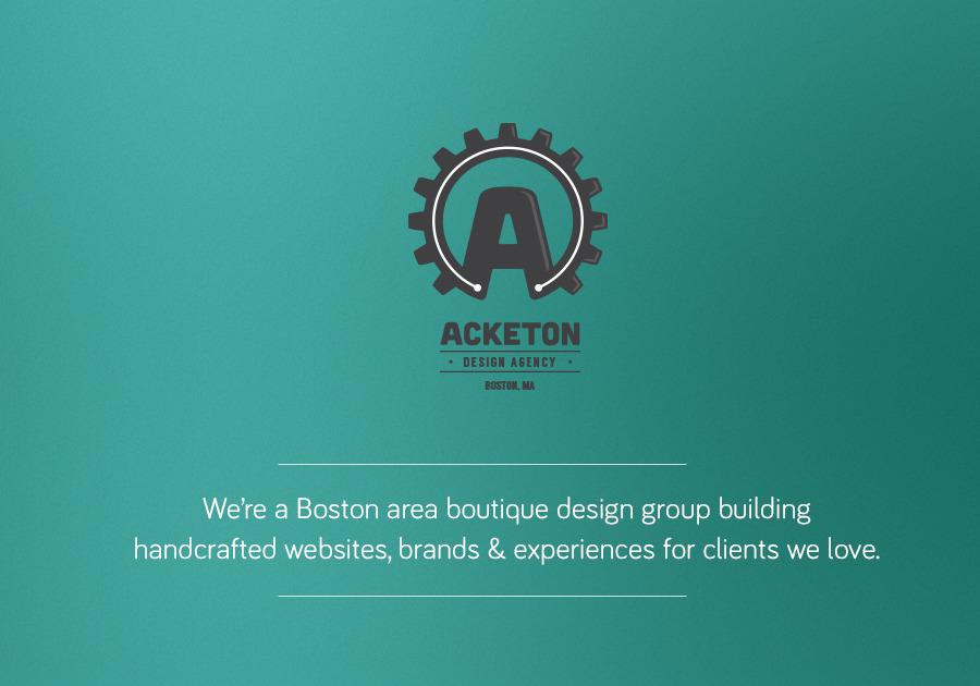A great web design by Acketon, Boston, MA: