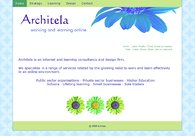 A great web design by Architela, Dorset, United Kingdom:
