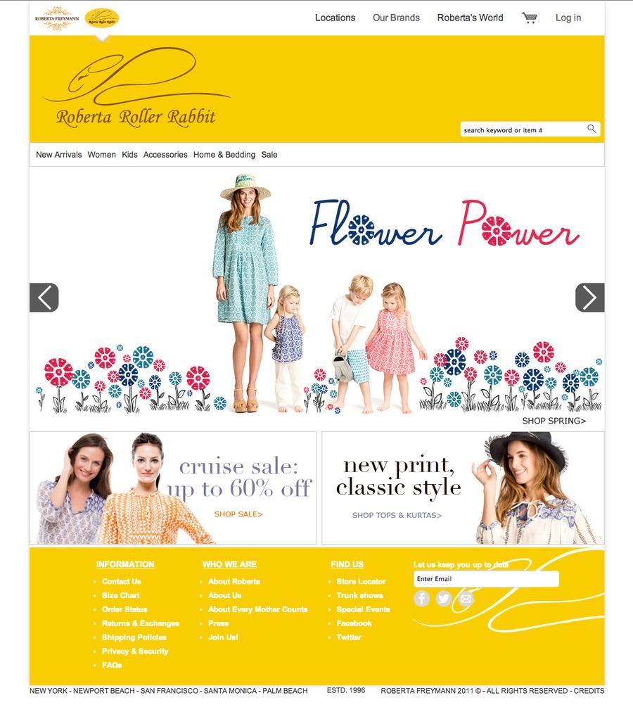 A great web design by digital marauders, New York, NY: