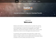 A great web design by Base20, Phoenix, AZ: Responsive Website, Marketing Website , Internet , Wordpress