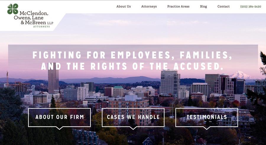 A great web design by Murmur Creative - Portland Web Design, Portland, OR: