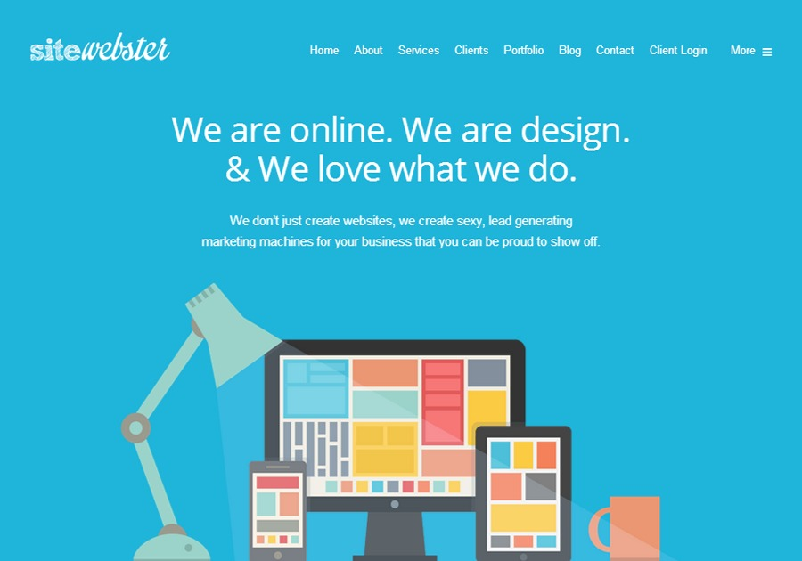 A great web design by SiteWebster, Edmonton, Canada: