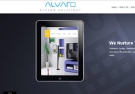 A great web design by Alvaro Solutions, Calicut, India: