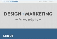 A great web design by George Mokhiber, Washington DC, DC: