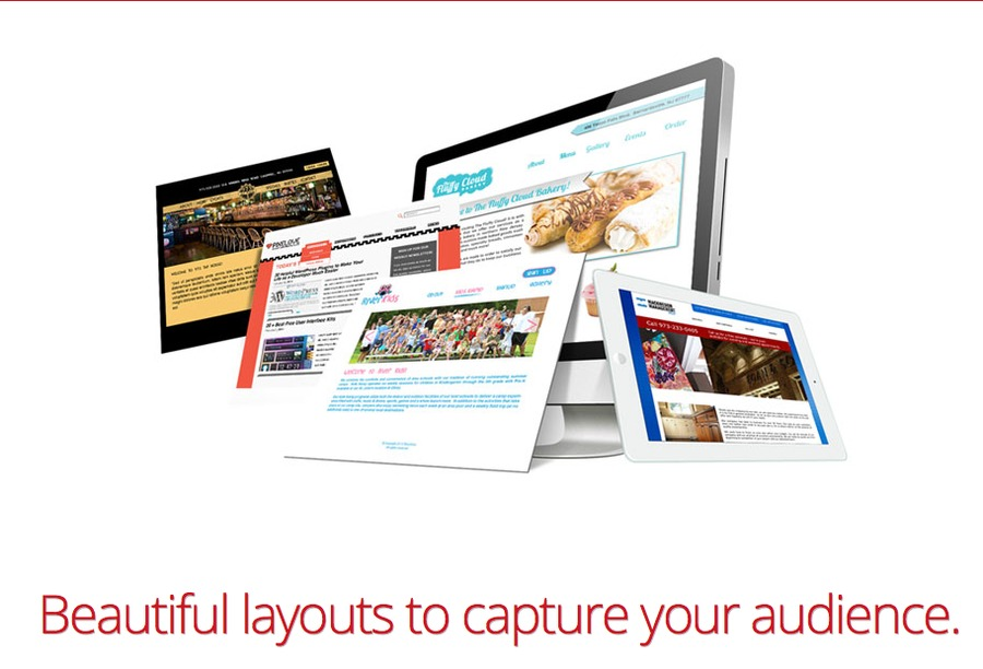 A great web design by THWIP! Web Services, Andover, NJ: