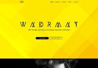 A great web design by WNDRMNT, New York, NY: Responsive Website, Portfolio , Internet , Static HTML