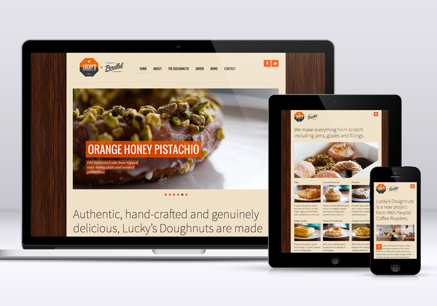 A great web design by Caroline Design, Vancouver, Canada: Responsive Website, Marketing Website , Food & Beverage , Wordpress