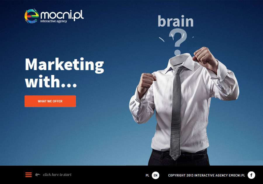 A great web design by Emocni.pl, Warsaw Poland, Poland: