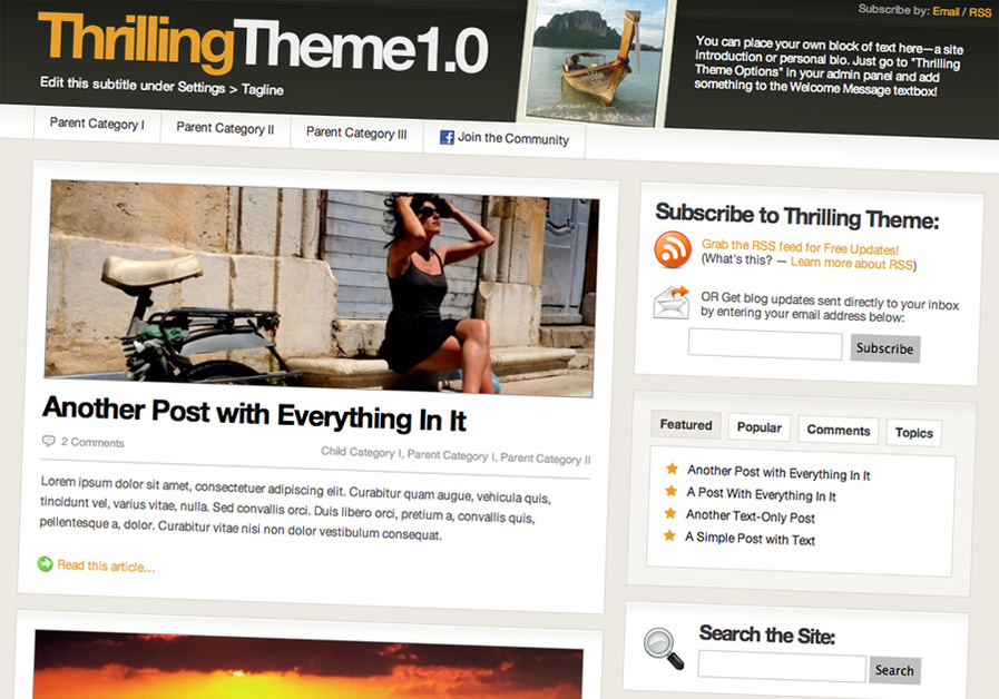A great web design by Thrilling Heroics Consulting, Bangkok, Thailand: