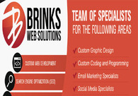 A great web design by BrinksWebSolutions, New York, NY: