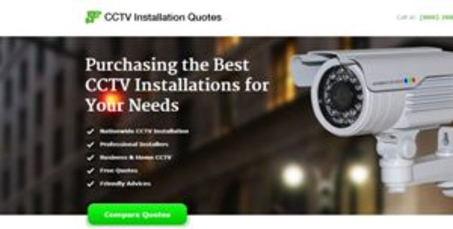 A great web design by CCTV installers, New York, NY: