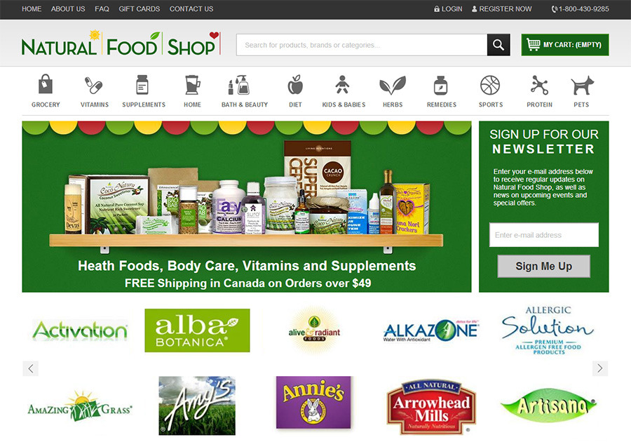 A great web design by WebStar Multimedia, Toronto, Canada: Responsive Website, E-Commerce , Food & Beverage , Other